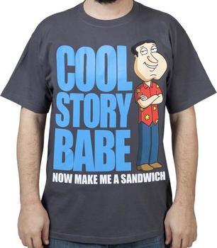 Cool Story Quagmire Shirt