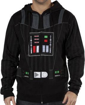 Darth Vader Zipper Hoodie
