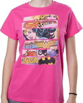 DC Comics Super Heroines T-Shirt