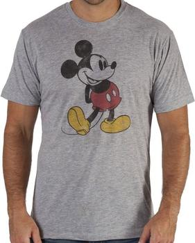 Distressed Mickey Mouse Shirt