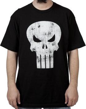 Distressed Punisher Shirt
