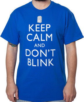 Dont Blink Doctor Who Shirt