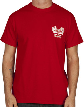 Double Deuce Staff Road House T-Shirt
