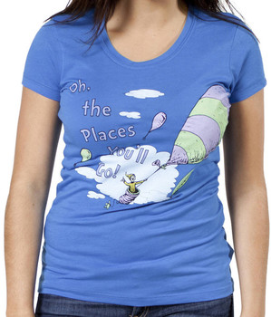 Dr. Seuss Jr Oh The Places You will Go T-Shirt