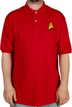 Engineering Star Trek Polo Shirt
