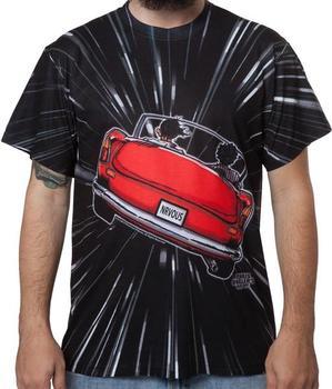 Ferris Bueller Hyperspace Sublimation T-shirt