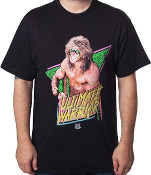Flexing Ultimate Warrior T-Shirt