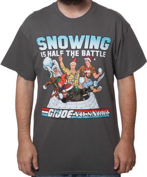 GI Joe Snowing is the Battle