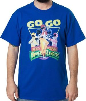 Go Go Power Rangers Shirt