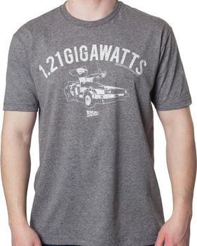 Gray 1.21 Gigawatts T-Shirt