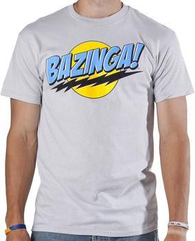 Gray Big Bang Theory T-Shirt