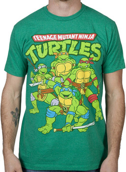 Green Ninja Turtles T-Shirt