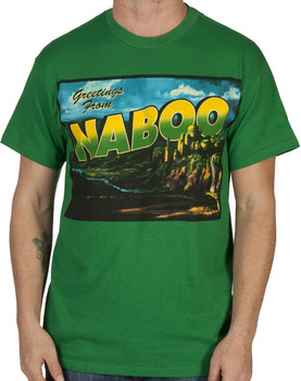Greetings From Naboo Star Wars Shirt