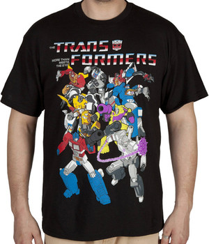 Group Transformers Shirt