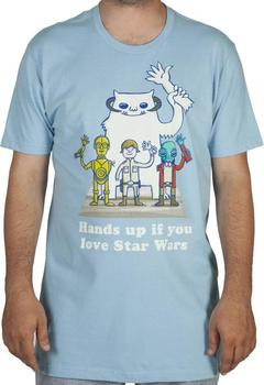 Hands Up Star Wars Shirt