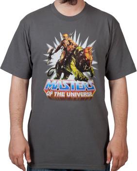 He-Man and Battle Cat T-Shirt