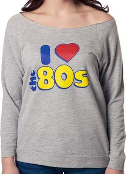 I Love 80s Long Sleeve Shirt