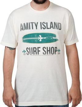 JAWS Amity Island Surf Shop Shirt