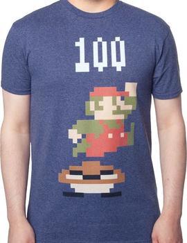 Jumping Mario Shirt