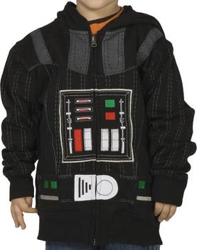 Juvy Darth Vader Costume Hoodie
