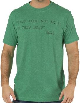 Karate Kid Fear Does Not Exist Shirt