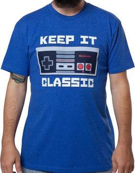 Keep It Classic Nintendo Shirt