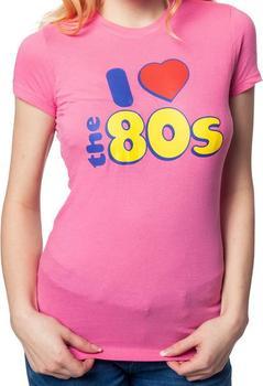 Ladies I love 80s Shirt