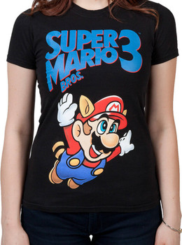 Ladies Super Mario 3 Shirt