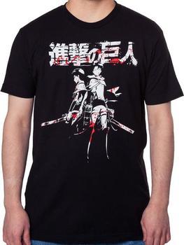 Levi and Eren Attack on Titan Shirt