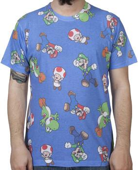 Mario and Luigi Sublimation Shirt
