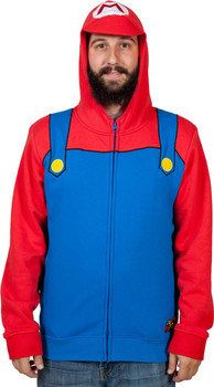 Mario Costume Hoodie