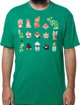 Mario Crew Shirt