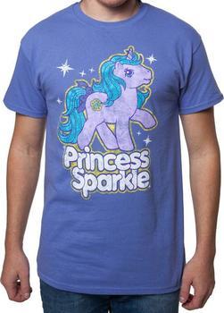 Mens Princess Sparkle My Little Pony Shirt