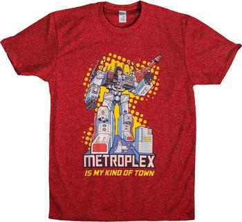 Metroplex Transformers Shirt