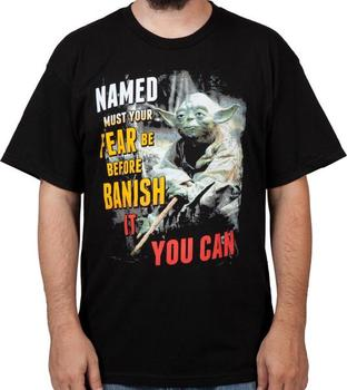 Named Must Your Fear Be Shirt