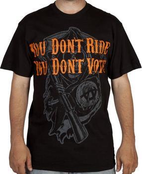 No Ride No Vote Shirt