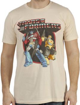 Optimus Prime and Bumblebee Shirt