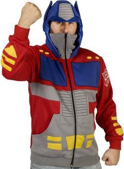 Optimus Prime Costume Hoodie