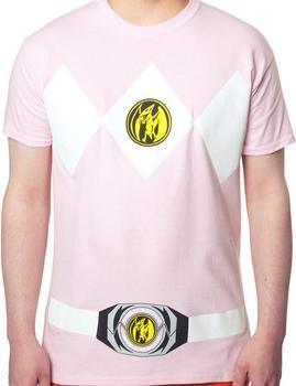 Pink Power Rangers Shirt