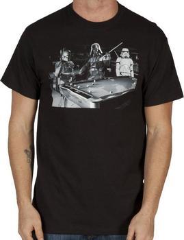 Pool Hall Star Wars Shirt