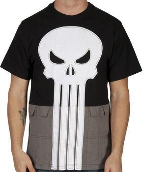 Punisher Costume Shirt