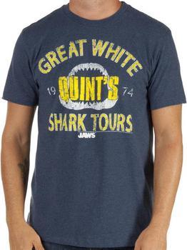 Quints Shark Tours Shirt