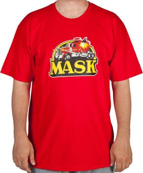Red M.A.S.K. T-Shirt