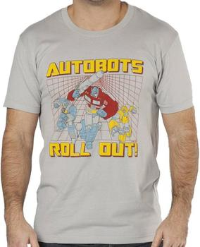 Roll Out Transformers Shirt