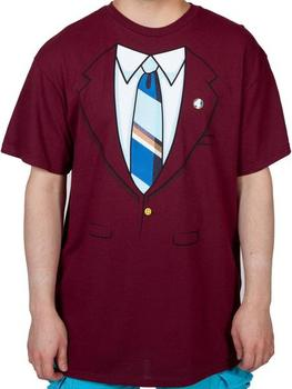 Ron Burgundy Jacket Anchorman Costume