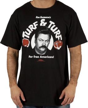 Ron Swansons Turf and Turf Shirt