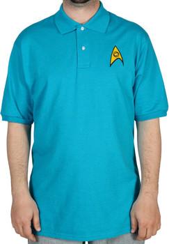 Science Star Trek Polo Shirt