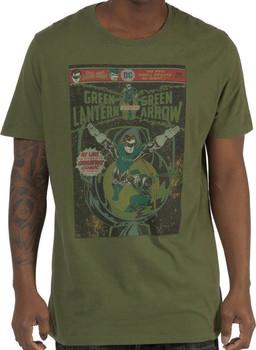 Sheldons Green Lantern and Green Arrow Shirt