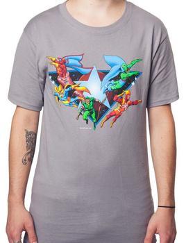 Sheldons Justice League Shirt