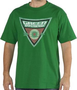 Shield Logo Green Arrow Shirt